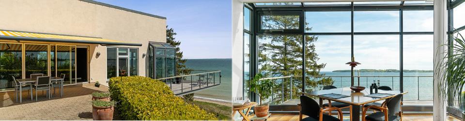 Liebhaverbolig direkte til Lillebælt - luksusvilla med panorama udsigt